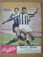WORLD SOCCER MAGAZINE JUNE 1962 JUVENTUS v INTERNATIONALE