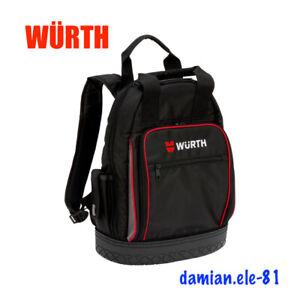 WÜRTH  Jobsite Backpack WERKZEUG RUCKSACK MIT WASSERDICHTER BODENSCHALE