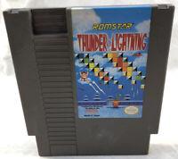 Thunder & Lightning Cart Only (Nintendo NES, 1990) Tested Works Great