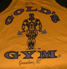 Ric Flair Gold's Gym T Shirt XL Ring Worn Used NWA Mid Atlantic Wrestling 2