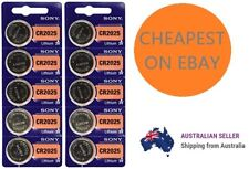 Genuine SONY CR2025 3V Lithium Coin Button Batteries Brand New Cheapest on ebay