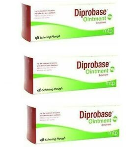3 X Diprobase Ointment 50g FREE POSTAGE