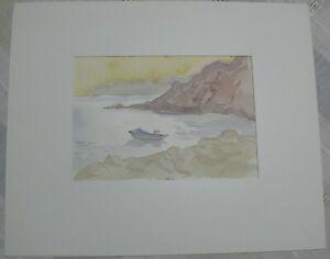 Aquarell von Edith Reichert  Passepartout 24x29 > 11,6x16.9 cm (N4342l)