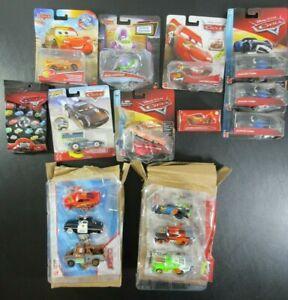 LARGE LOT 16 Disney Pixar Cars Color Changers Metal Mini Drive-In PKG WEAR