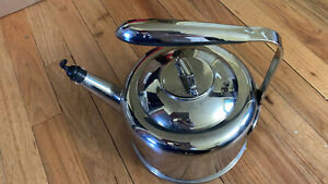 All Clad 2 Qt. Stainless Tea Kettle Teapot Metal Crafters