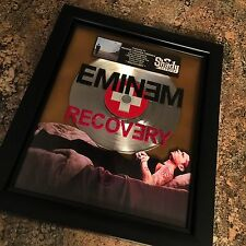 Eminem Recovery Platinum Record Disc Album Music Award MTV Grammy RIAA Dr Dre