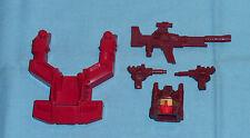 G1 Transformers COMPUTRON PARTS WEAPONS LOT #3 chest shield head gun cannons