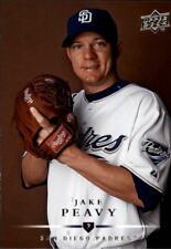 2008 Upper Deck #627 Jake Peavy San Diego Padres