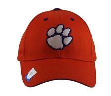 Clemson University Tigers Embroidered Cap Men's NCAA Fashion Hat, Orange