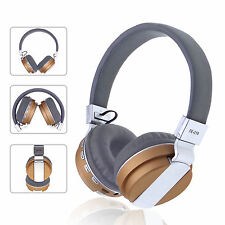 Flodable Bluetooth Headphones Wireless/Wired HD Stereo Headset For iPhone X 8 8S