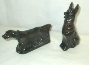 Vintage DOG Avon Bottles At Point & Noble Prince