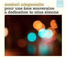 Me'Shell Ndeg ocello - For a Sovereign Soul [New CD]