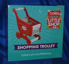 """Coles Little Shop """"Shopping Trolley""""  Brand New in Box"""