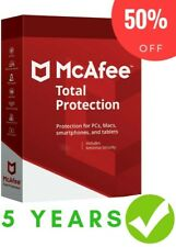 Mcafee Total Protection 2019 ✅ 5 Year Devices Unlimited ✅ Original Subscription