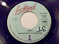Frankie Goes To Hollywood Relax / One September Monday 45 1983 Vinyl Record