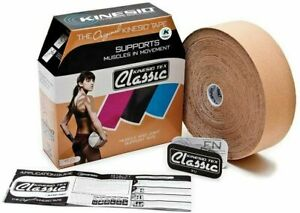 NEW! KINESIO BEIGE BULK TAPE 2in BULK Athletic Kinesiology Muscle Joint Support