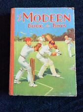 THE MODERN BOOK FOR BOYS SPORT R. ERNEST BAILEY STORY ACTIVE VINTAGE 1900
