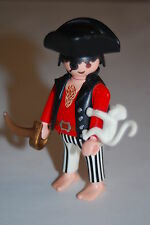 Playmobil Pirata con mono (2) Monkey Pirate
