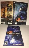 Valkyrie Profile Lenneth PSP Original Replacement Artwork & Manual