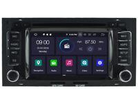 Android 9.0 GPS Navigation DVD Radio Wifi For VW Touareg/Transporter 2004-2011