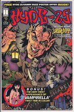 HYDE 25 # 0 HARRIS COMICS 1st VAMPIRELLA IN COLOUR RePrint, 1995 FN/NM Bagged