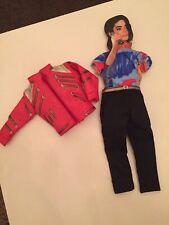 "Vintage Unused Michael Jackson Doll Clothes Fit Approx 12"" Doll Unused Beat It"