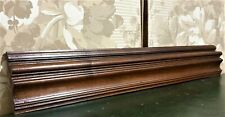 Victorian decorativewood carving pediment Antique french architectural salvage