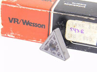NEW SURPLUS 10PCS. VR/WESSON  TNMG 543E  GRADE: 660  CARBIDE INSERTS