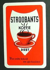 1 x Joker playing card single swap Stroobants Koffie Diest Cafe Coffee AD465
