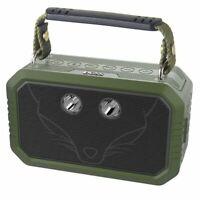DOSS Wireless Portable Bluetooth Speaker Waterproof IPX6 20W Stereo Sound Green