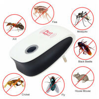 Pest Repeller Reject Ultrasonic Electronic Mouse Rat Mosquito Insect Control
