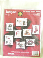 New Janlynn Holiday Dreams Christmas Cross Stitch Ornament Kit  #89-24