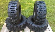 4 NEW 10-16.5 Skid Steer Tires 12 PLY- 10X16.5-For Bobcat, CAT,John Deere & more