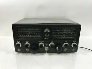 Vintage Hallicrafters SX-71 Ham Radio Communications Receiver