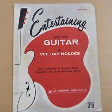 Chitarra intrattenere con chitarra VEE Jay neldes