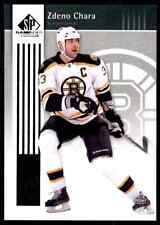 2011-12 SP Game Used Zdeno Chara #5