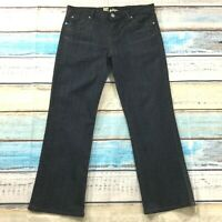 Kut From The Kloth Womens Jeans sz 14 Dark Wash Trouser Straight Cotton Stretch