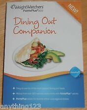 B00AHF23LC Weight Watchers PointsPlus Plan 2012 Dining Out Companion Book Points