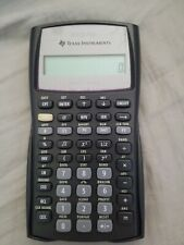 Texas Instruments Business Analyst BA II Plus BA2 Plus Financial Calculator, Exc