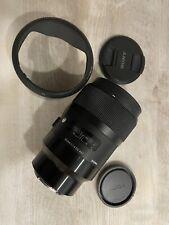 Sigma 1,4 / 35 mm DG HSM ART  Objektiv für SONY E-Mount wenig Benutzt