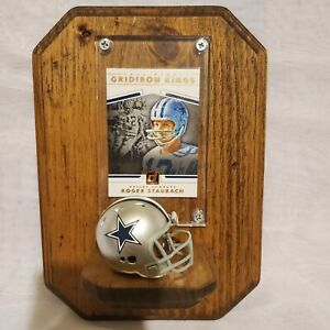 Dallas Cowboys Custom Roger Staubach Plaque