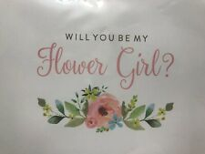 Cherub Will You Be My Flower Girl personalized Greetings Card
