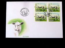 Aland Islands, Facit #EA13a,b,c &d, First Day Cover, Fancy Cancel, 2001, Fine