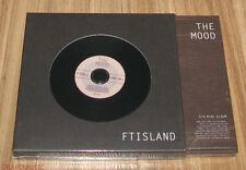 FTIsland FT ISLAND The Mood 5TH MINI ALBUM K-POP CD & FOLDED POSTER SEALED