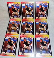 CRAIG BIGGIO --1989 DONRUSS-- (( 9 )) ROOKIE CARDS--#561--NM/MINT--L@@K