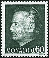 """MONACO N° 992 """"NOUVELLE EFFIGIE DU PRINCE, 60 C VERT ET NOIR""""NEUF xxTTB"""