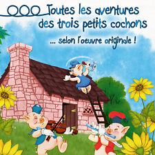 CD Toutes les aventures des trois petits cochons...