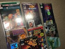 LOT 7 - Ghostbusters,Twilight Zone,Universal Soldier,Green Hornet NOW COMIC BOOK