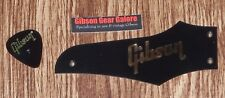 Gibson Firebird Truss Rod Cover Non Reverse Lefty Black / Gold Guitar Parts HP T
