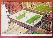 Postcard JFK Dallas Texas 1970, Memorial Site, John Fitzgerald Kennedy's Life
